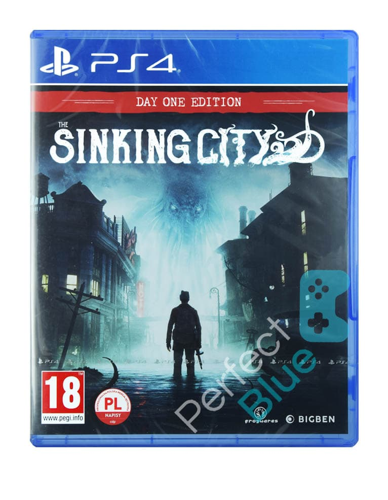 Gra PS4 The Sinking City / Day One Edition