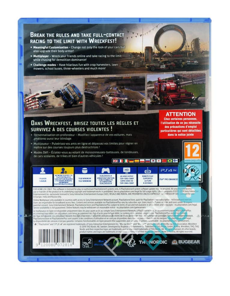 Gra PS4 Wreckfest PL