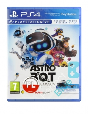 Gra PS4 VR Astro Bot: Rescue Mission PL