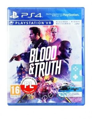 Gra PS4 VR Blood & Truth PL