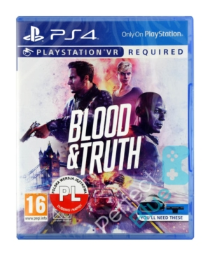 Gra PS4 VR Blood & Truth PL