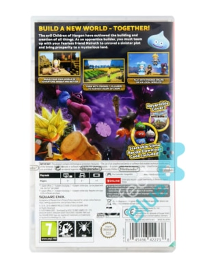 Gra Nintendo Switch Dragon Quest: Builders 2 / podwójna okładka + DLC