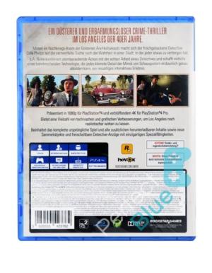 Gra PS4 L.A. Noire