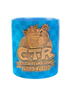 Gadżet Metalowy Kubek Crash Team Racing CTR