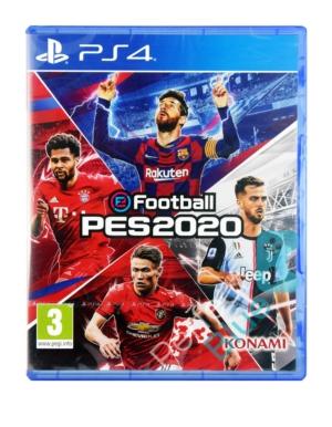 Gra PS4 eFootball PES 2020 + MyClub Content