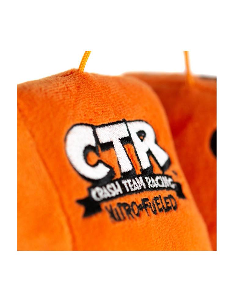 Gadżet Pluszowe Kostki do Auta Crash CTR