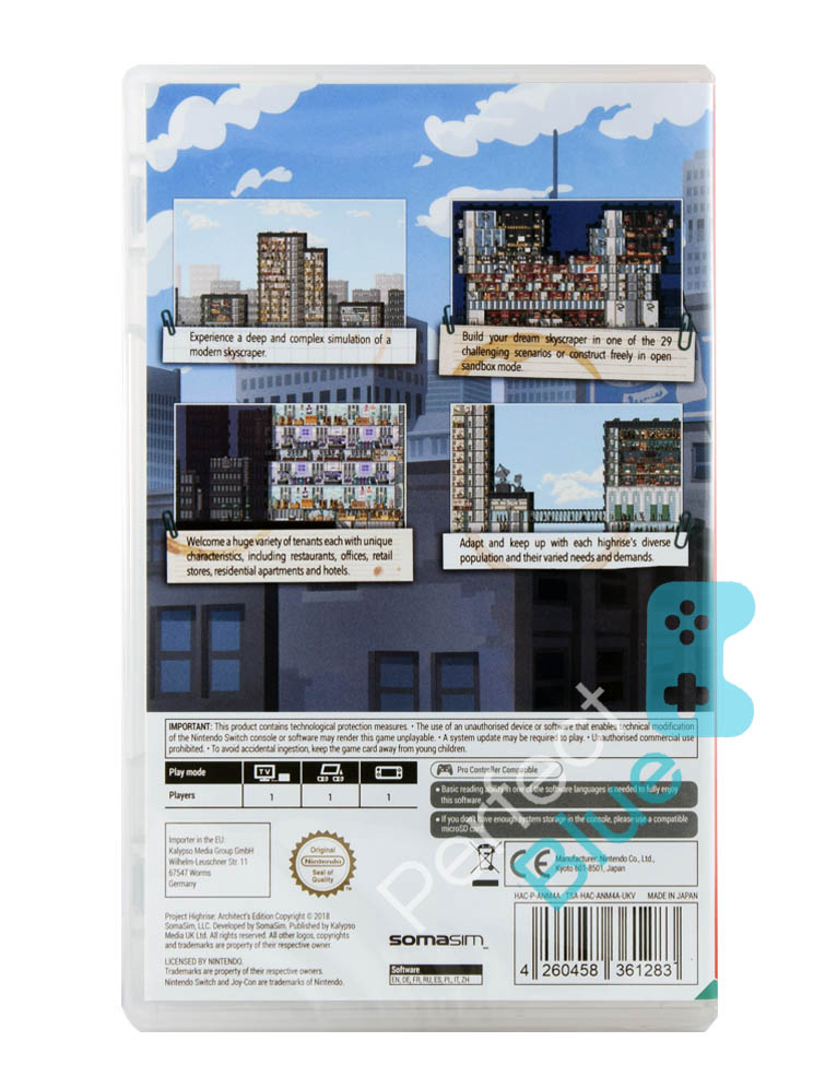Gra Nintendo Switch Project Highrise Architect's Edition