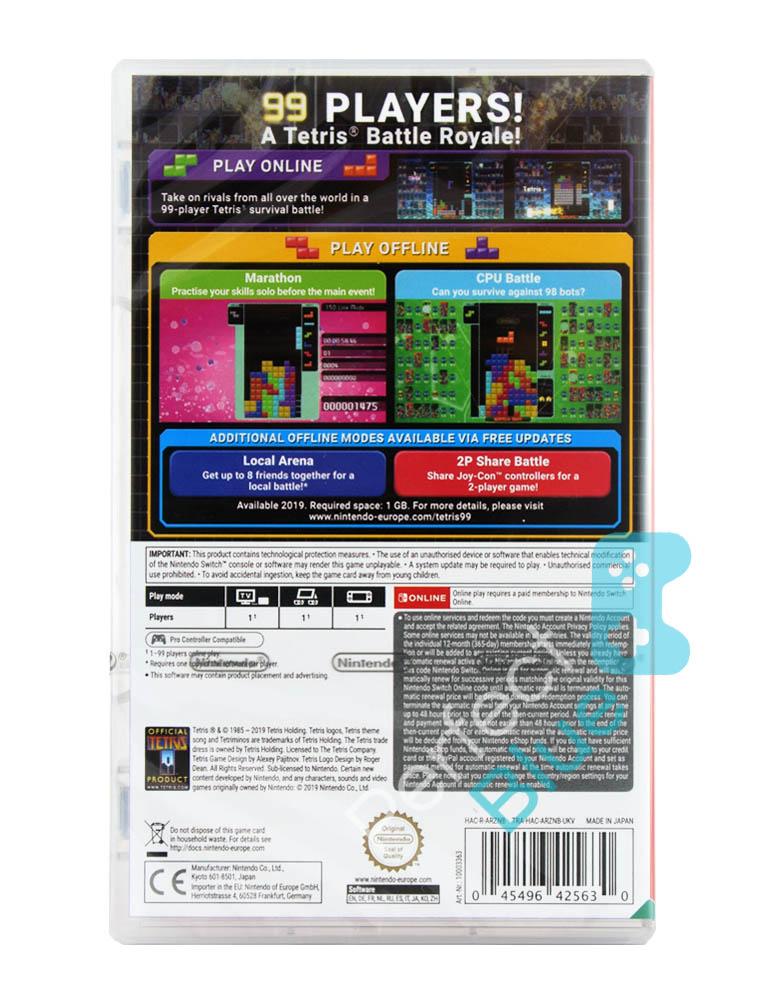 Gra Nintendo Switch Tetris 99 + Abonament + DLC