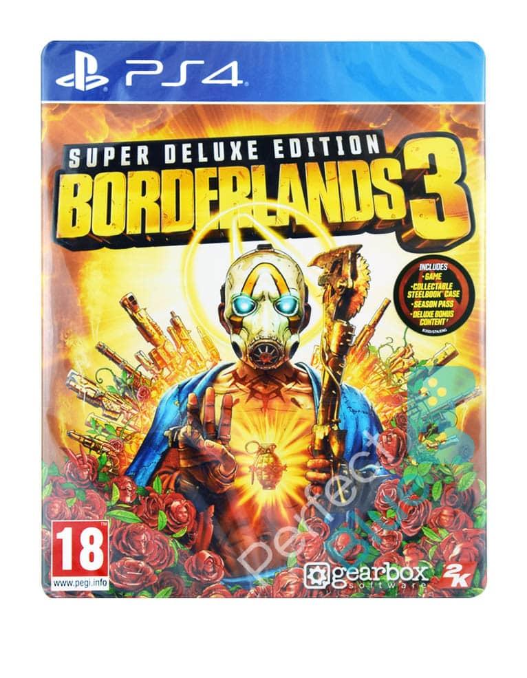Gra PS4 Borderlands 3 Super Deluxe Edition / ze Steelbookiem!
