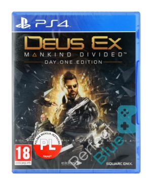 Gra PS4 Deus Ex Mankind Divided Day One Edition PL