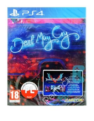 Gra PS4 Devil May Cry 5 Deluxe Edition - Steelbook