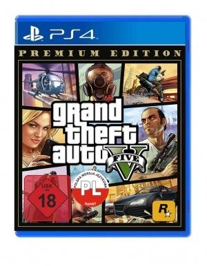 Gta 5 Grand Theft Auto V Niemiecka Gra Ps4
