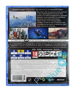 Gra PS4 Grand Theft Auto V / GTA 5 Premium Edition
