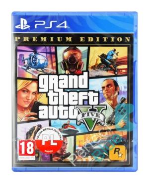 Gra PS4 Grand Theft Auto V / GTA 5 Premium Edition
