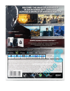 Gra PS4 Hitman The Complete First Season / Edycja Steelbook