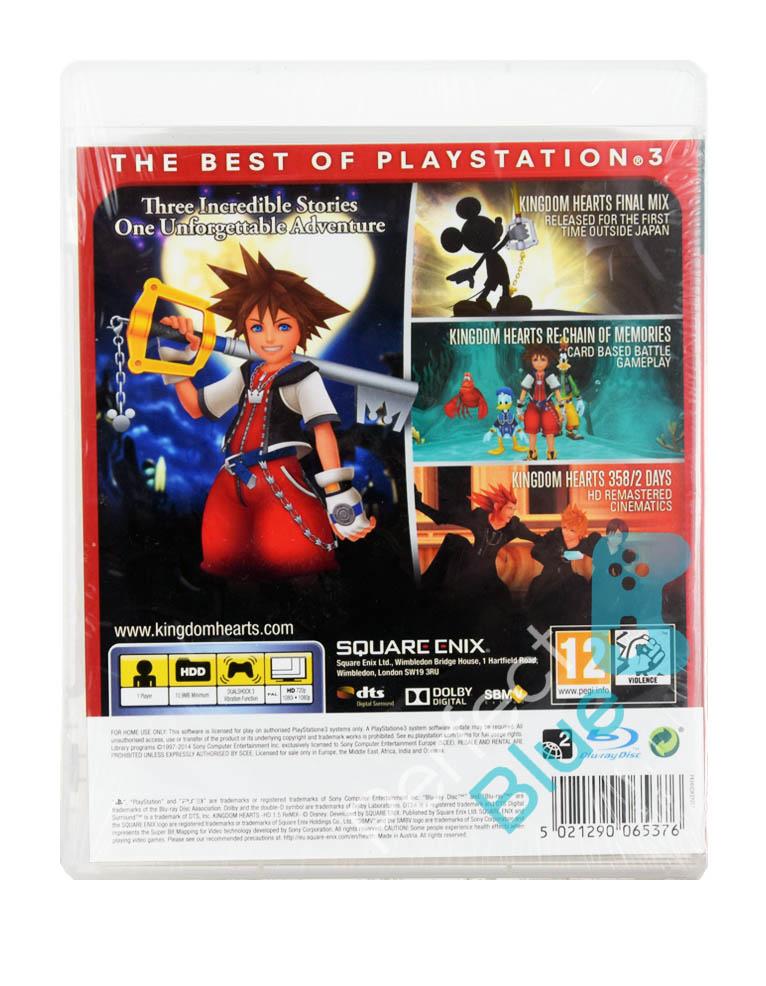 Outlet / Gra PS3 Kingdom Hearts HD 1.5 Remix / Repack