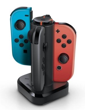 Bionik Tetra Power / Ładowarka do kontrolerów Joy-Con