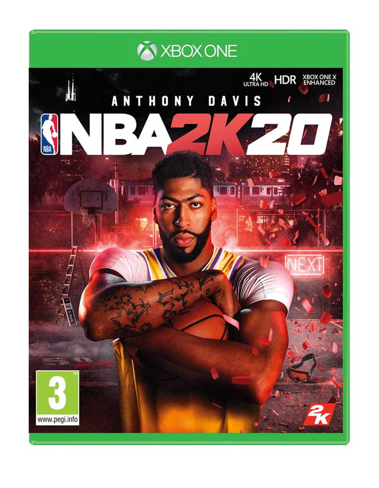 Gra Xbox One NBA 2K20 + DLC