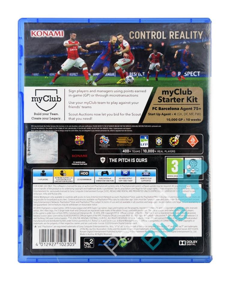 Outlet / Gra PS4 PES 2017 Pro Evolution Soccer / Repack