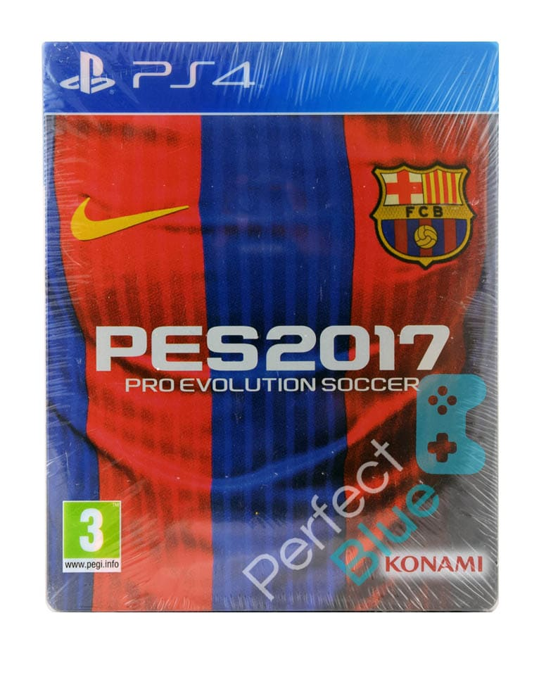 Outlet / Gra PS4 PES 2017 Pro Evolution Soccer Edycja Specjalna / Steelbook / Repack
