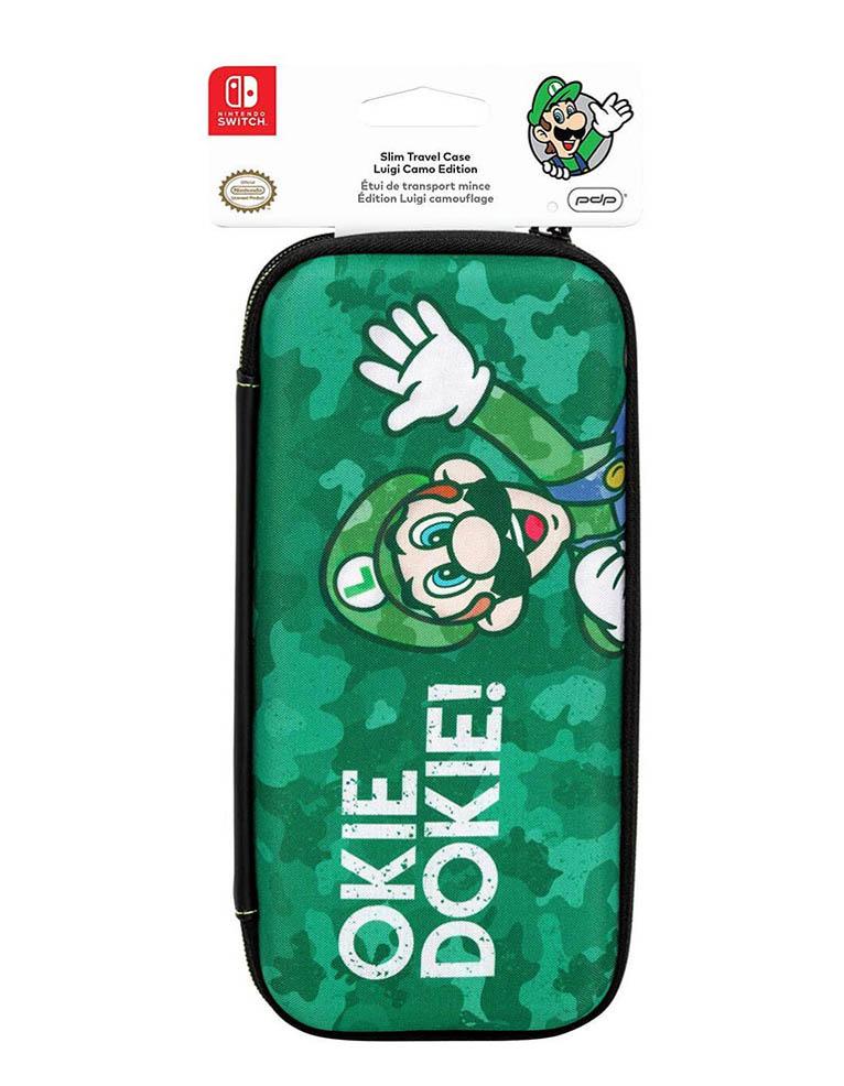 PDP Etui Pokrowiec Slim - Nintendo Switch - Luigi