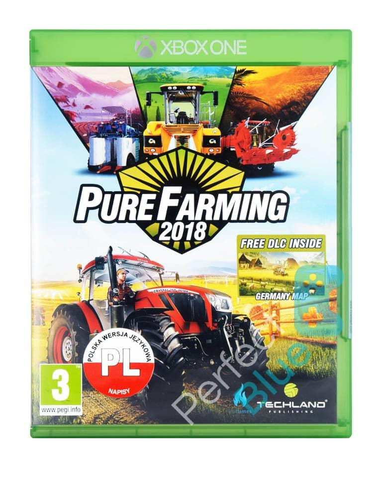 Outlet / Gra Xbox One Pure Farming 2018 PL / Brak Folii