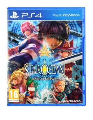 Outlet / Gra PS4 Star Ocean / Brak Folii