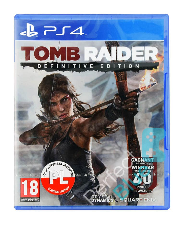 Gra Ps4 Tomb Raider Definitive Edition Sklep Perfect Blue Gry Konsole Akcesoria