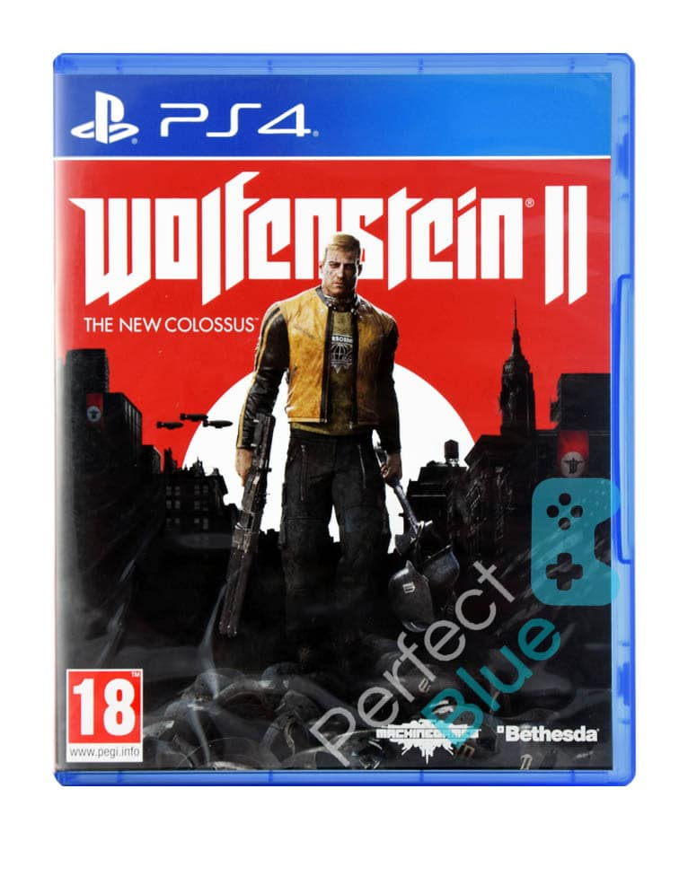 Outlet / Gra PS4 Wolfenstein II: The New Colossus / Brak Folii