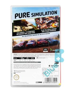 Gra Nintendo Switch WRC 8
