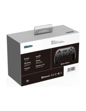 8BitDo SN30 Pro+ Black Edition / Gamepad do Switch, PC, Mac, Android