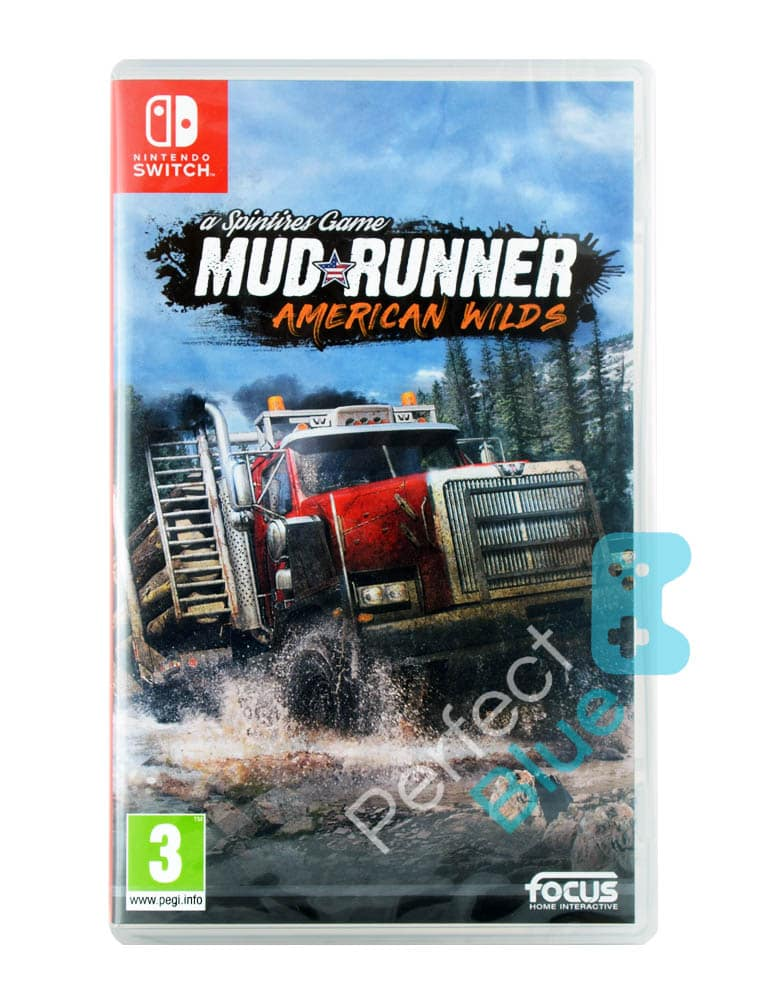 Gra Nintendo Switch Spintires Game: MudRunner American Wilds