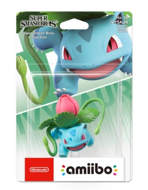 Figurka Amiibo - Super Smash Bros. Collection - Ivysaur No. 76