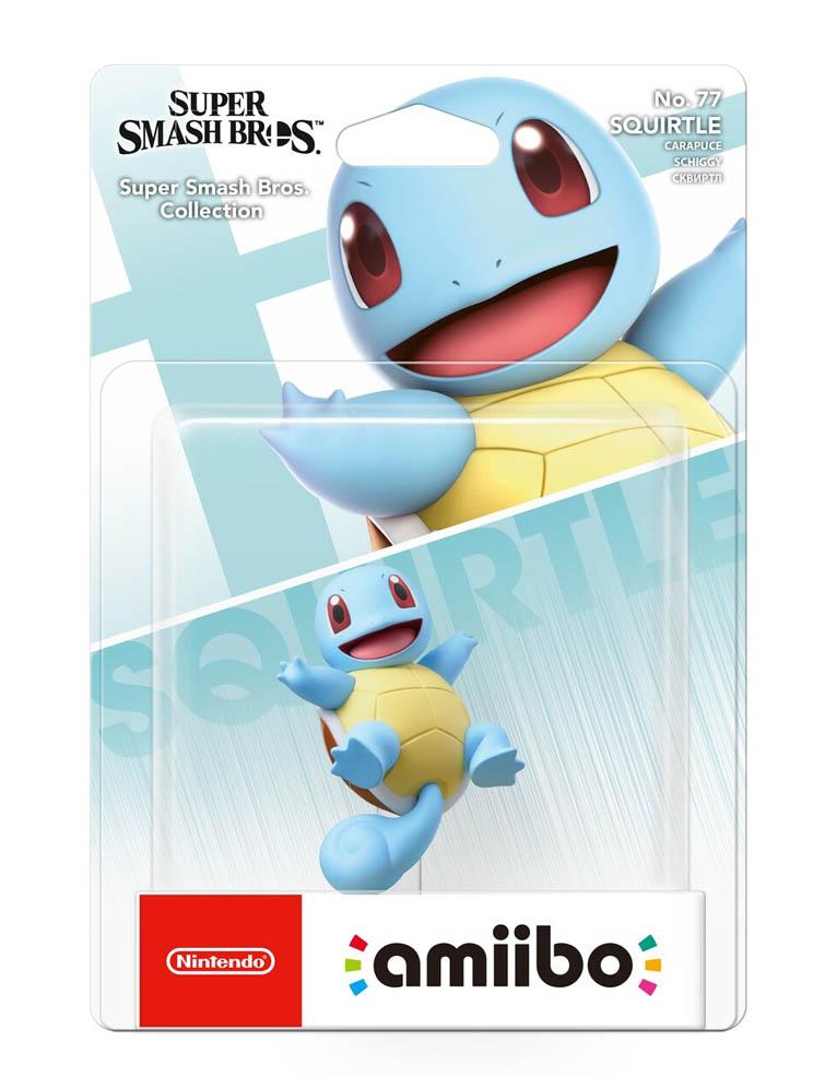 Figurka Amiibo - Super Smash Bros. Collection - Squirtle No. 77
