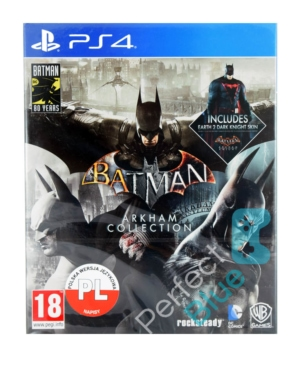 Gra PS4 Batman: Arkham Collection / Steelbook PL