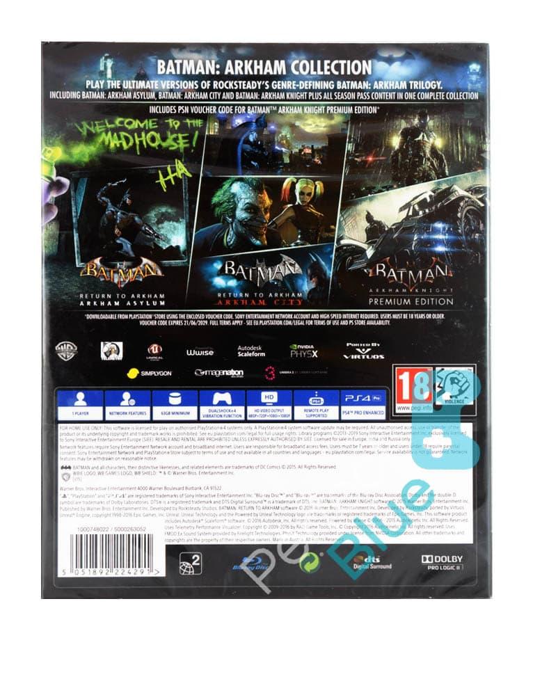 Gra PS4 Batman: Arkham Collection / Steelbook PL
