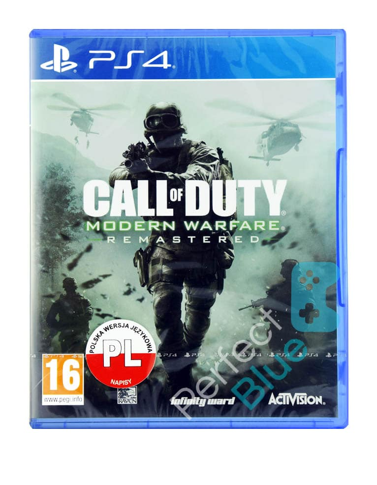 Gra PS4 Call of Duty: Modern Warfare Remastered
