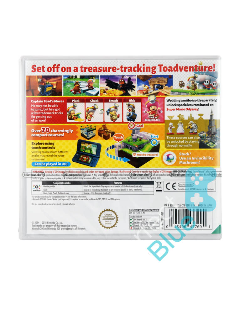 Gra Nintendo 3DS Captain Toad Treasure Tracker