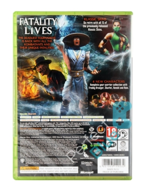 Gra Xbox 360 Mortal Kombat Komplete Edition