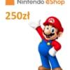 Kod doładowujący Nintendo eShop 250zł / Wysyłka na email / Automat 24h