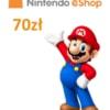 Kod doładowujący Nintendo eShop 70 zł / Wysyłka na email / Automat 24h