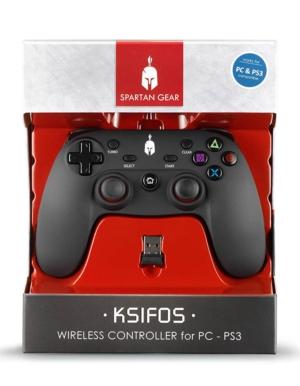 Spartan Gear Pad Kontroler Bezprzewodowy Ksifos / PS3 PC