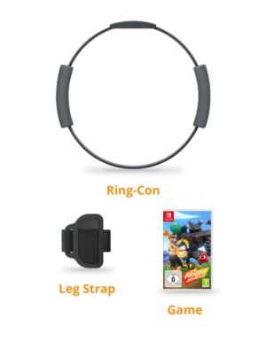 Gra Nintendo Switch Ring Fit Adventure / Zestaw