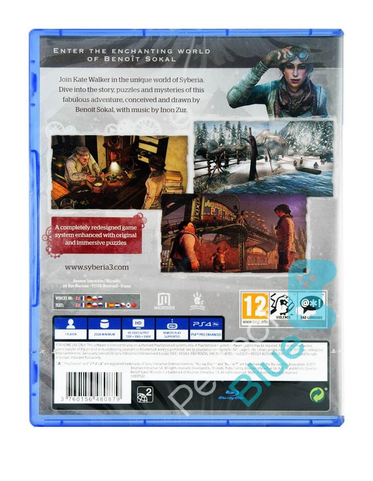 Gra PS4 Syberia 3 PL