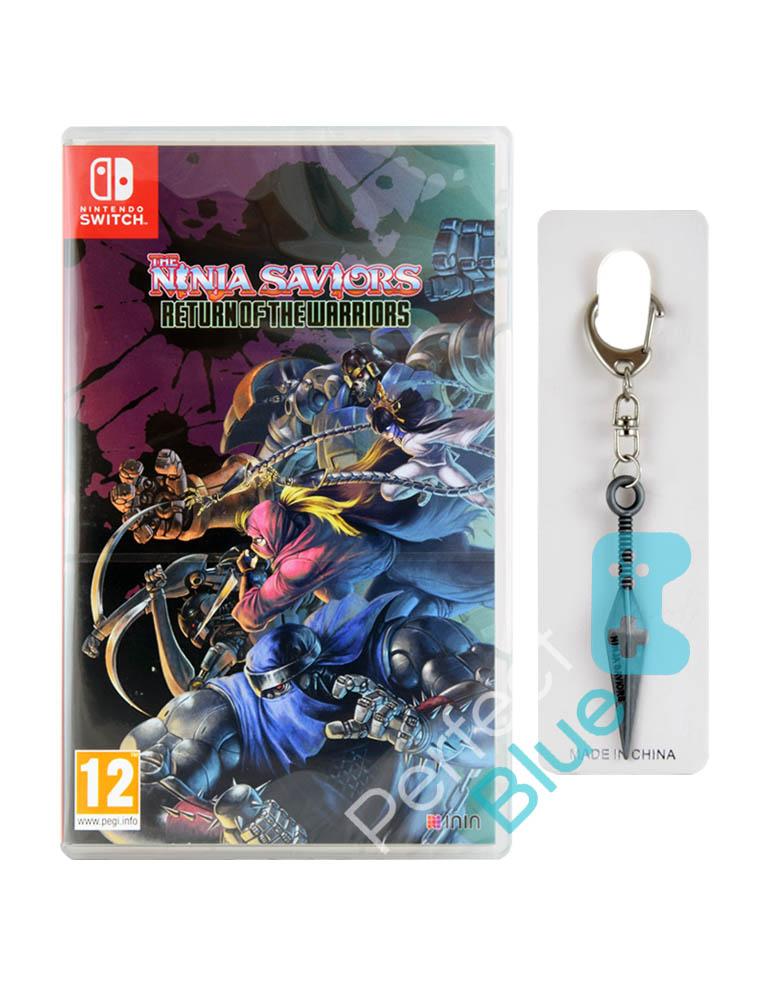 Gra Nintendo Switch The Ninja Saviors Return Of The Warriors + Brelok Kunai + Dodatki