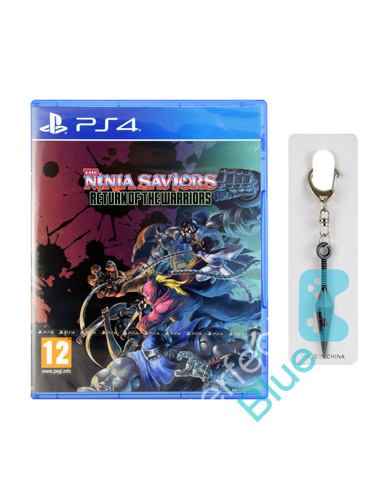 Gra PS4 The Ninja Saviors Return Of The Warriors + Brelok Kunai + Dodatki