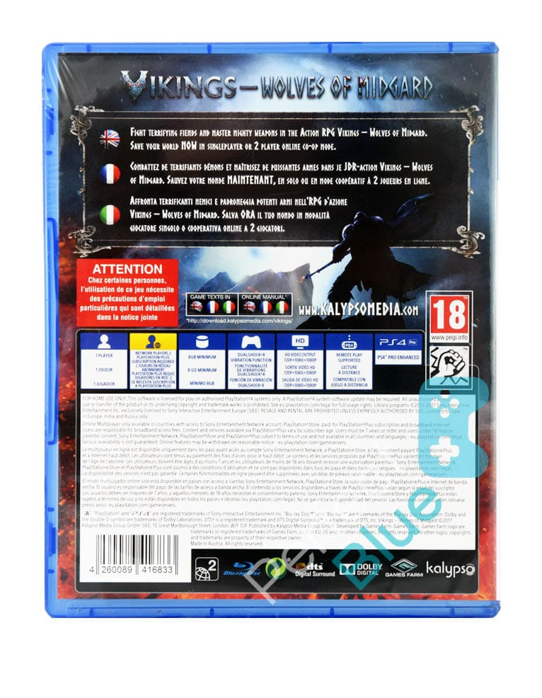 Outlet / Gra PS4 Vikings Wolves of Midgard Special Edition PL / Repack