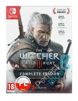 Gra Nintendo Switch Wiedźmin 3: Dziki Gon Edycja Kompletna / Polskie napisy, angielski dubbing