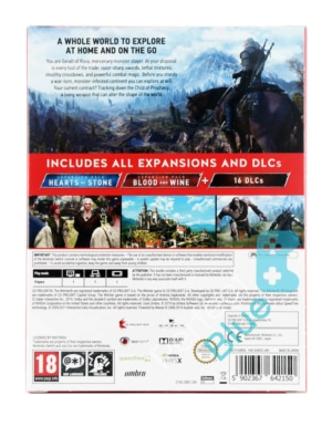 Gra Nintendo Switch Wiedźmin 3: Dziki Gon Edycja Kompletna