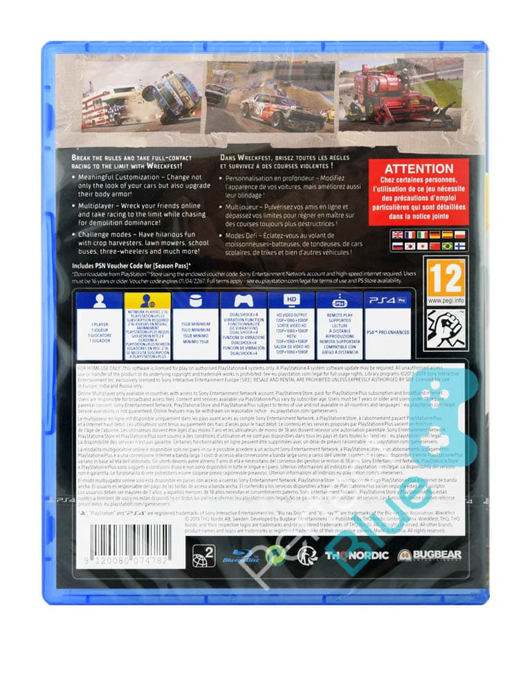 Gra PS4 Wreckfest Deluxe Edition PL